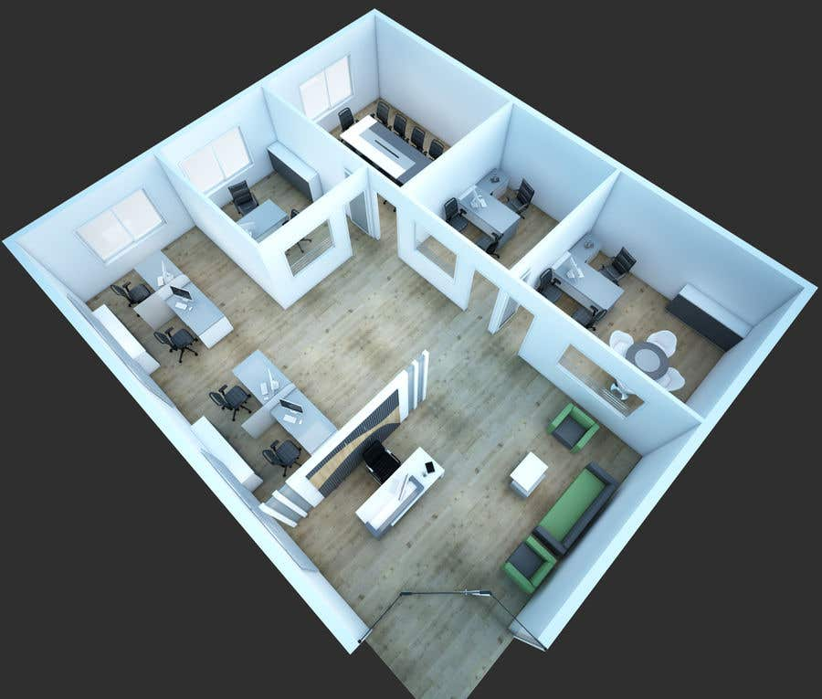 Entry 19 By Muhammedyasir27 For Small Office Design For Rooms Freelancer