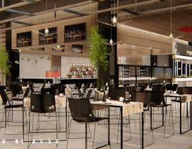 #20 para All you can eat Restaurant /Bar Interior Design por AC3Designe