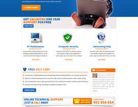 #10 para Wordpress Theme Design for IT Tech Support Help $650 to $1000 por tania06