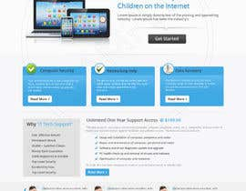 #5 para Wordpress Theme Design for IT Tech Support Help $650 to $1000 por pritipawar