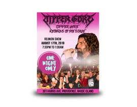 "#12 cho Facebook ad, posts, and art. Design a digital ""gig flyer"" for my metal band's concert. bởi jahidDUX"