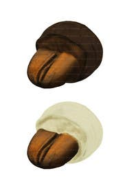 Graphic Design Contest Entry #18 for HD Image of coffee bean coated in chocolate