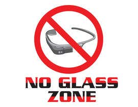 #15 for Logo Design for NO Glass Zone by yatz29