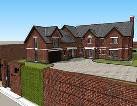 #25 для Design CAD floor plans, site plan and elevations for a large house от aliwafaafif
