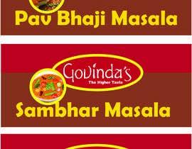 Nro 6 kilpailuun make a label for different packed spices käyttäjältä JTuhin017
