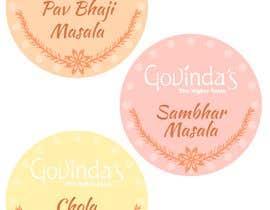 Nro 2 kilpailuun make a label for different packed spices käyttäjältä BJoyfulDesign