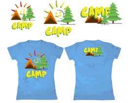 #28 для Logo for Kids Camp T-shirt от stiyenshan