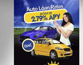 #25 untuk Flyer Design for Auto Loan Ad oleh creationz2011