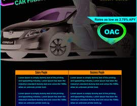 nº 2 pour Flyer Design for Auto Loan Ad par gravitygraphics7