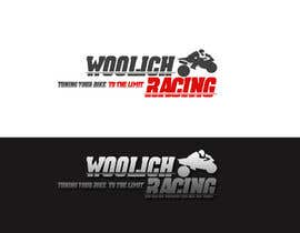 #77 para Logo Design for Woolich Racing por lifeillustrated