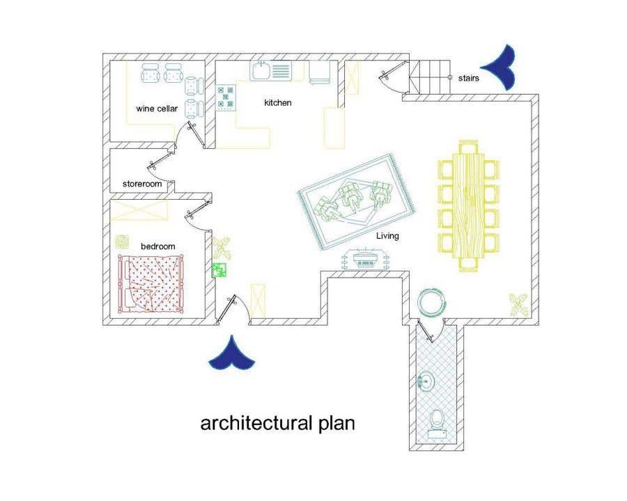 Inscrição nº 18 do Concurso para Design the ideal basement!