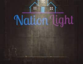 #89 for NATION LIGHT af Patrickashraf