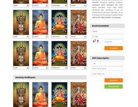 #15 для Require a fantastic design for spiritual wallpapers website от Haider501