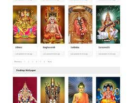 #19 для Require a fantastic design for spiritual wallpapers website от Haider501