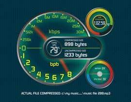 manfredslot tarafından design mockup of 7-Zip compression dialog window için no 7