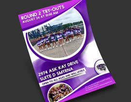 #31 untuk Create a cheerleading flyer oleh Abdenourz