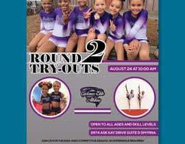 #80 untuk Create a cheerleading flyer oleh msaimon410