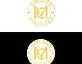#10 для I need a logo with the wording Chicago Metropolitan FC Since 2020 that mix the two logos on file and keep the c with ball. Main colors should be Royal blue, Yellow and Dark gray. от oumomenmr