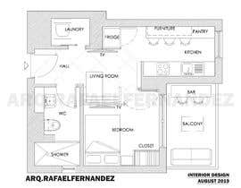 #82 untuk Please take a look on attached floor plan. We are looking for a way to move from 1 to 2 room flat oleh arqfernandezr