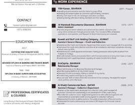 #14 for Need to convert the attach word document CV for Mr. Alqaheri to an informative Info-graphic CV. See also attached PDF example of personal profile that I like. by MMSimon