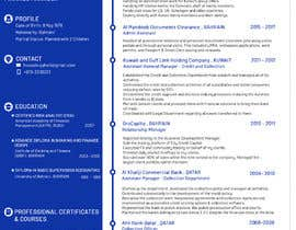 #22 for Need to convert the attach word document CV for Mr. Alqaheri to an informative Info-graphic CV. See also attached PDF example of personal profile that I like. by MMSimon
