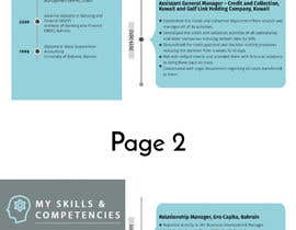 #20 for Need to convert the attach word document CV for Mr. Alqaheri to an informative Info-graphic CV. See also attached PDF example of personal profile that I like. by irfananis07