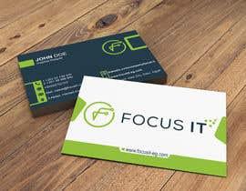 nº 449 pour design business card for IT company par niloydebnath222