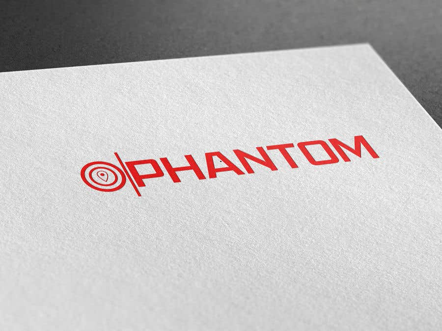 """Inscrição nº 94 do Concurso para I need to develop brand logo for the GPS tracking system """"Phantom"""""""