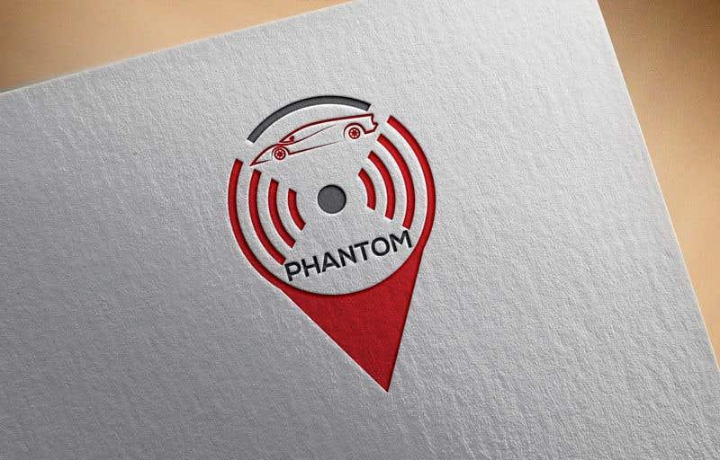 """Inscrição nº 116 do Concurso para I need to develop brand logo for the GPS tracking system """"Phantom"""""""