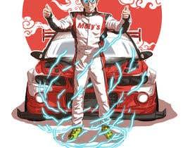 #25 cho T-shirt illustration design- Japanese Anime style bởi adibfaesol
