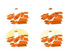 #47 for Village houses/roofs illustration af polkurakina