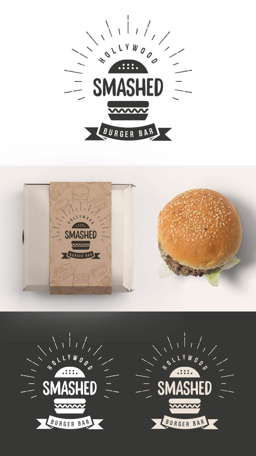 Konkurrenceindlæg #293 for Branding and Design for a New Burger Restaurant and Bar Concept in Hollywood