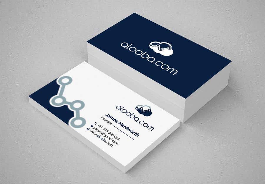 Konkurrenceindlæg #101 for Design some business cards