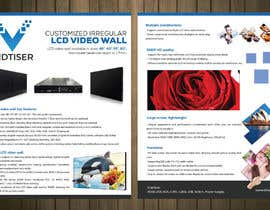 #4 for Brouchure design LCD Vieo Wall af petersamajay