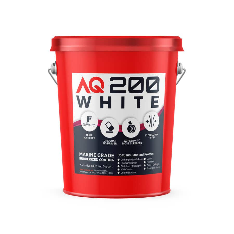 Konkurrenceindlæg #21 for Label design for 5 gallon pail