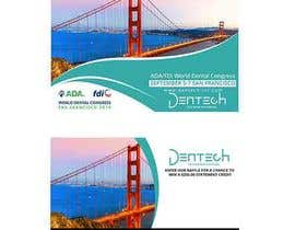 Nro 17 kilpailuun Design a professional flyer/postcard for an upcoming conference show käyttäjältä maidang34