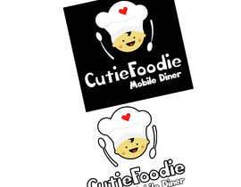 Nro 37 kilpailuun CutieFoodie Mobile Diner branding käyttäjältä PuntoAlva