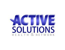 #10 para Logo Design for Active Solutions and Health Network por sirrom