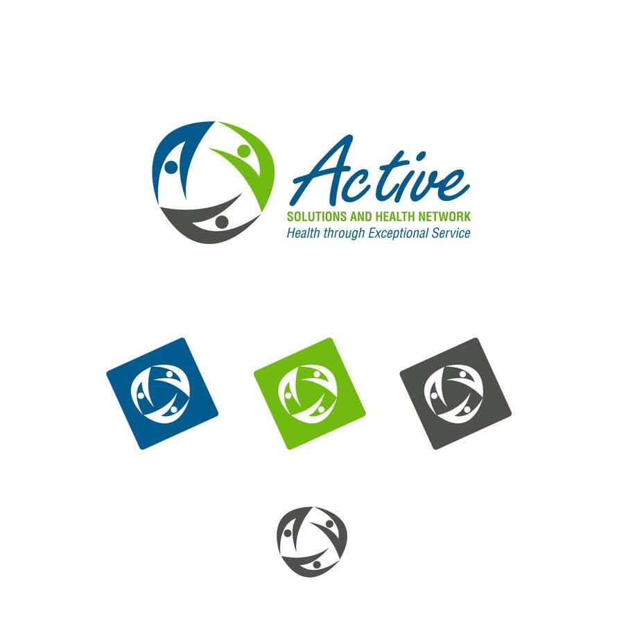 Inscrição nº                                         13                                      do Concurso para                                         Logo Design for Active Solutions and Health Network