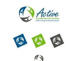 nº 13 pour Logo Design for Active Solutions and Health Network par artistkumar