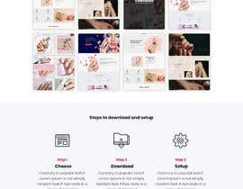 #28 untuk Design Landing Page for free Template Download oleh amitpokhriyalchd