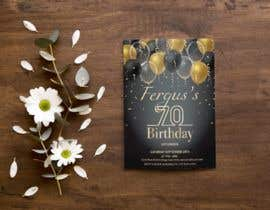 #2 для 70th birthday invite від sharpe10focu