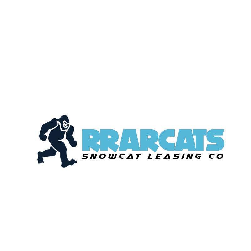 Kilpailutyö #100 kilpailussa New logo for snow cat leasing company