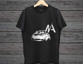 #5 for Car T-Shirt Design by shaiboub13