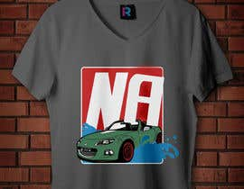 #35 for Car T-Shirt Design by Asadul1979