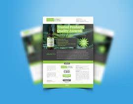 #59 para Create flyers/postcards for my CBD oil brand por hmasum738
