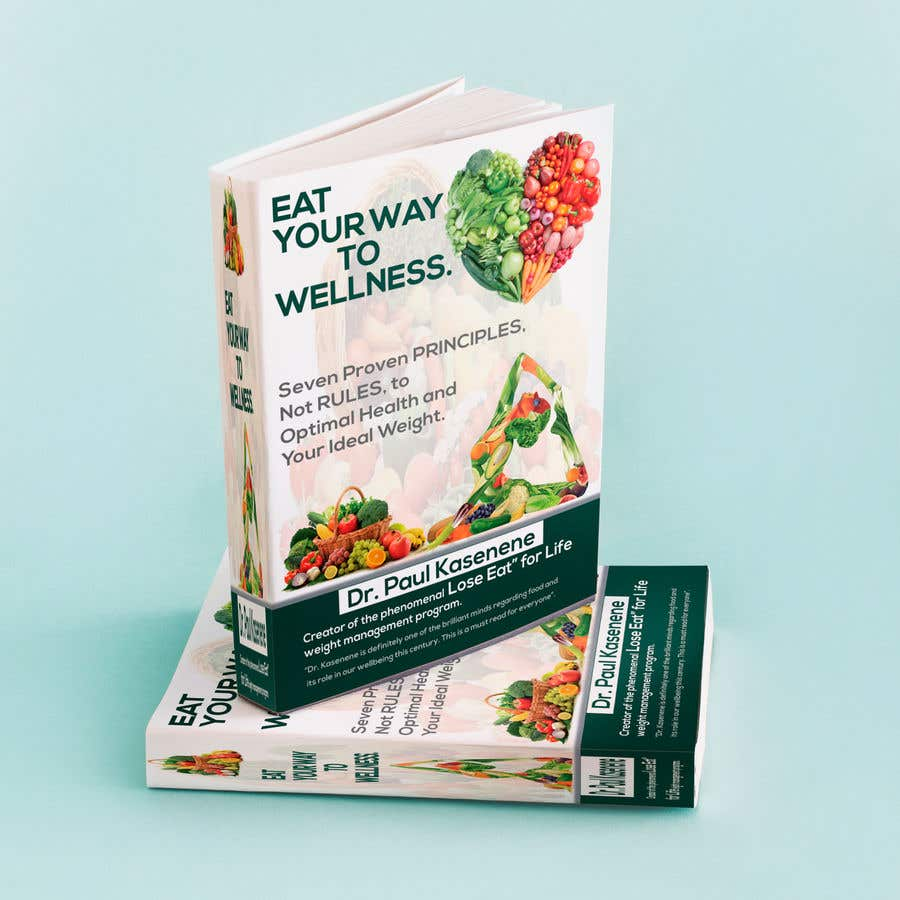 Proposition n°11 du concours Book cover design for a healthy eating book