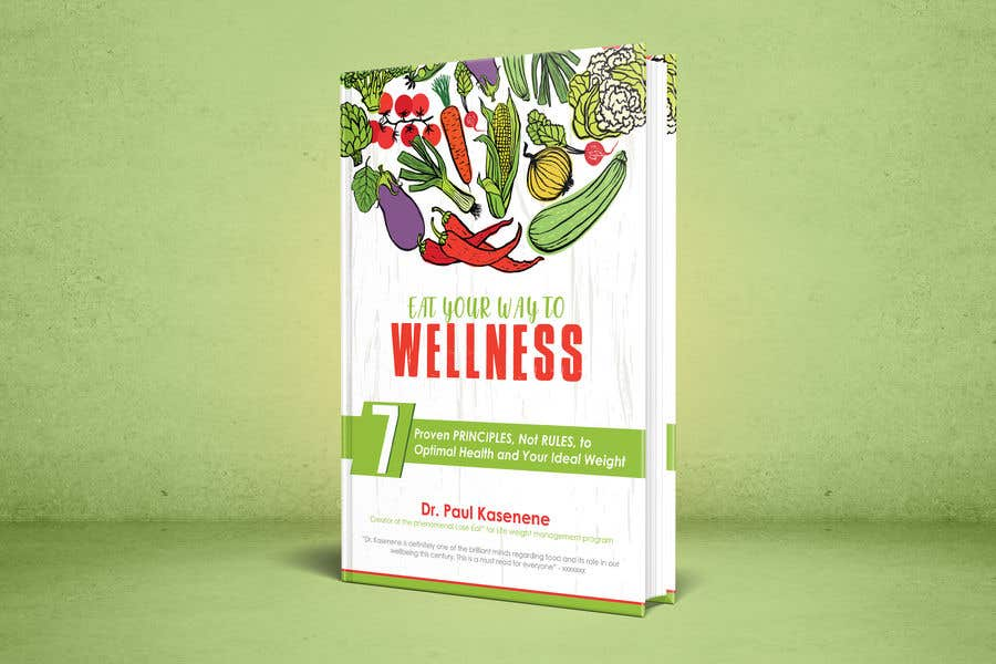 Konkurrenceindlæg #25 for Book cover design for a healthy eating book