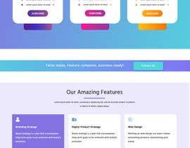 #20 cho A new home page bởi ranjitmaloweb