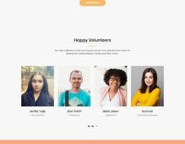 Nro 6 kilpailuun Web site for a non profit organisation käyttäjältä adnan158817